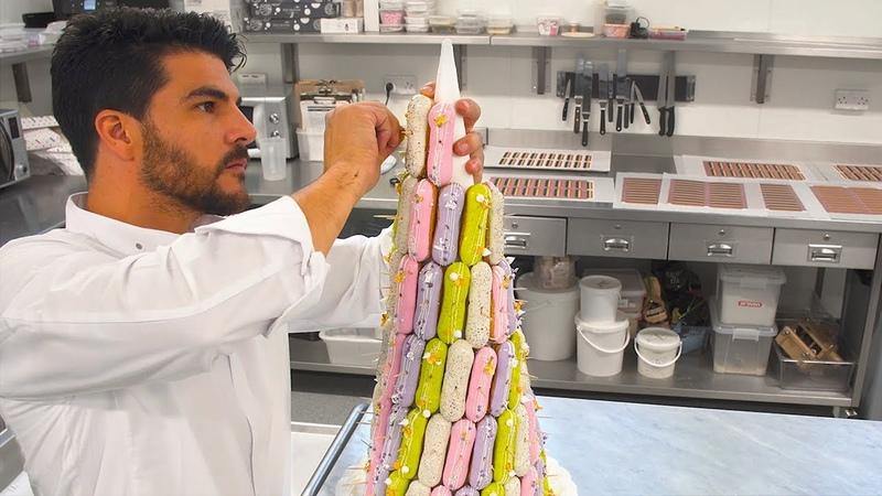 エッフェル塔ならぬ「エクレア塔」!?1つ1つプロの手作り、ロンドン大人気パティスリー Tastemade Spotlight