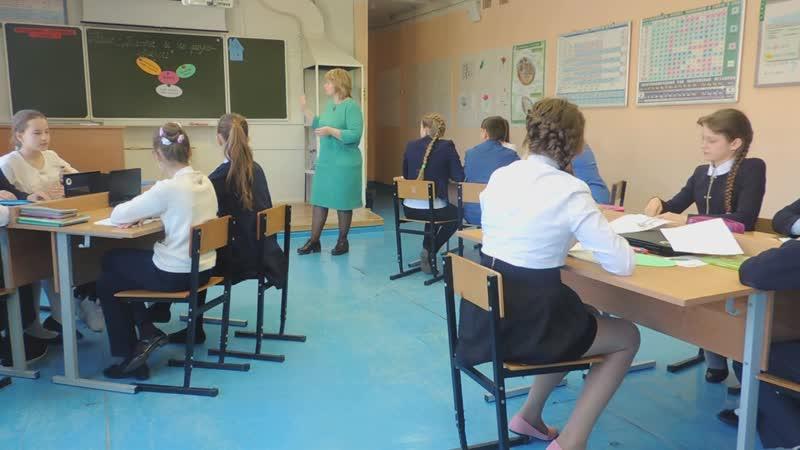 Ефрос Н.В.- фрагмент урока по биологии-6 класс