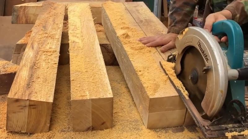 Каждый должен увидеть видео этого столяра плотника. - Гениальные деревообрабатывающие работники
