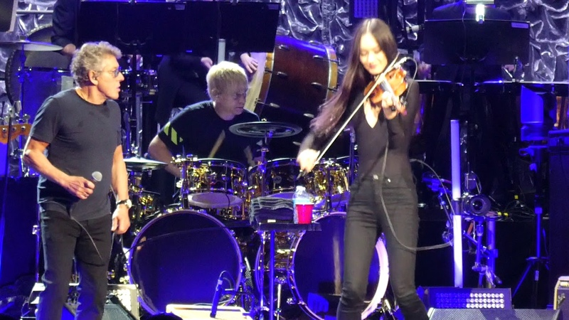 Baba O'Riley (Roger Gets Kiss from Violinist) The Who@Jiffy Lube Live Bristow, VA 5/11/19