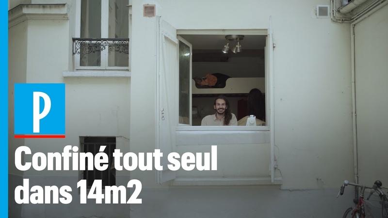 Romain étudiant confiné dans un studio sombre et humide de 14 m2 à Paris