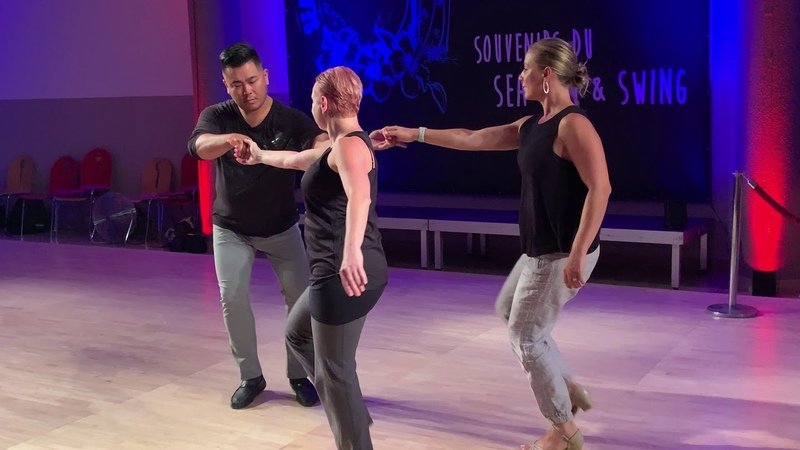 Sea Sun Swing 2019 Pro Show Double Trouble Brandi Deborah and Arjay