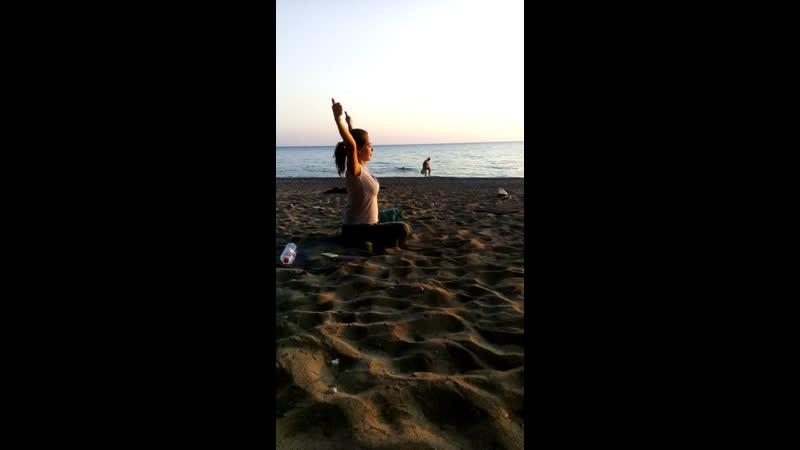 Кундалини йога на закате