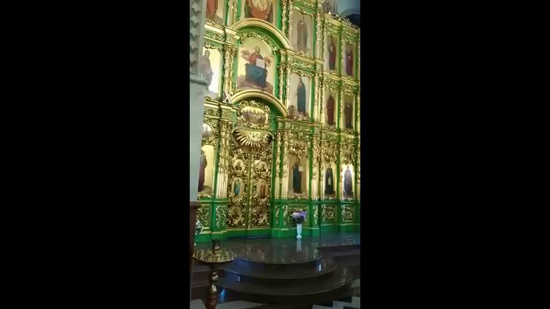 Kyrie eleison Господи помилуй г Осинники храм Святой Троицы живое пение