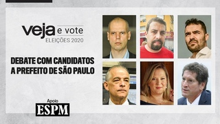 Eleições 2020: VEJA promove debate entre candidatos a prefeito de São Paulo
