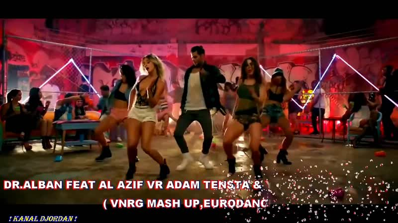 Dr. Alban feat Al Azif vs Adam Tensta Yazoo - Dont Go (VNRG MASH UP, Eurodance Music Remix 2018)