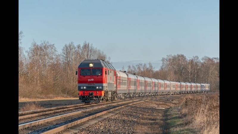 ZdSimulator Пассажирский поезд № 29Ч Москва Калининград