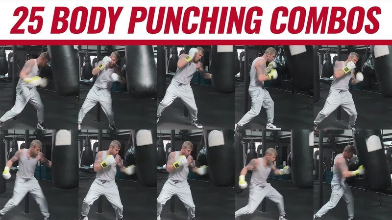 25 Body punching combos from an Olympic medallist