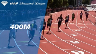 Michael Norman remains undefeated after winning the 400m race in Stanford - IAAF Diamond League 2019