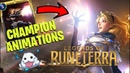 Legends of Runeterra ALL CHAMPION ANIMATIONS AND LEVEL UPS