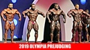 2019 Olympia Pre-Judging First Callout (Top 6)