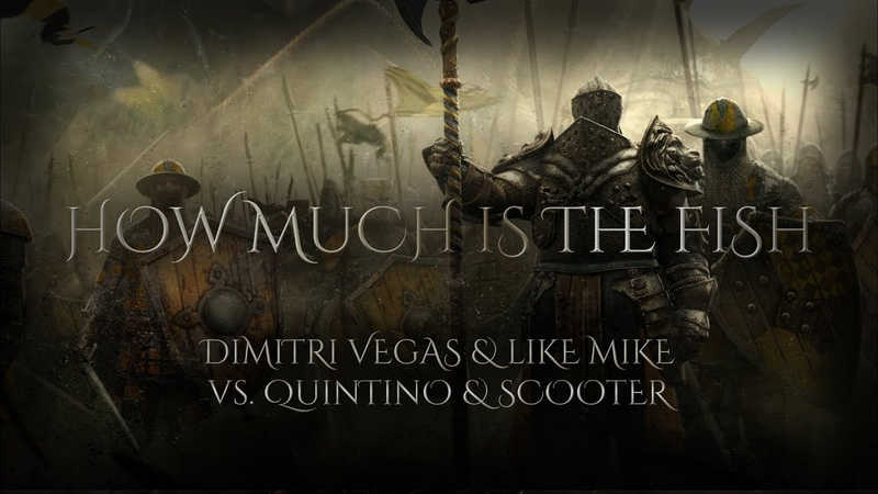 How Much Is The Fish (Tomorrowland 2019) - Dimitri Vegas Like Mike vs. Quintino Scooter