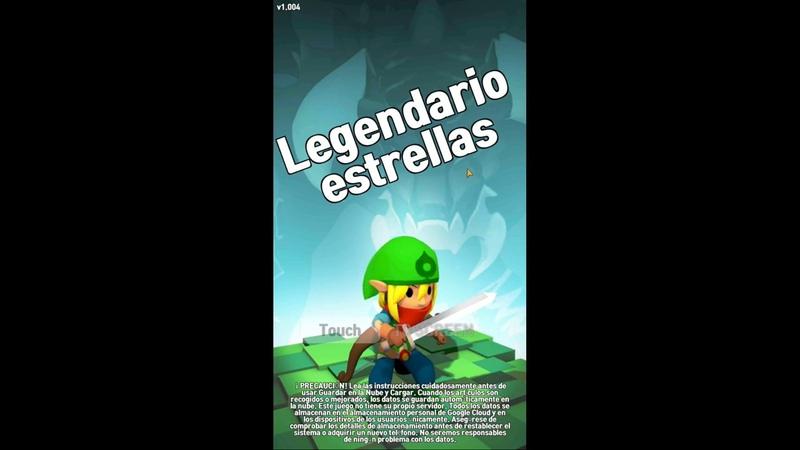 Estrellas Legendarias android game first look gameplay español
