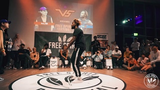 Free Spirit Festival 2019 ► Becky vs. P Dog ◄ Hype N Buck Final