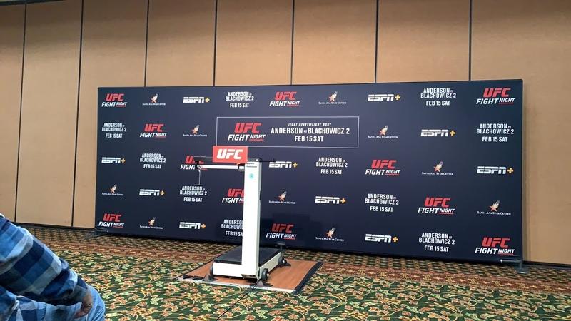 UFC on ESPN 25 official weigh-ins