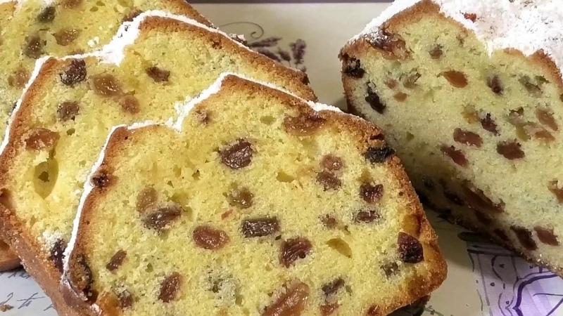 Популярный с детства КЕКС СТОЛИЧНЫЙ / Cupcake metropolitan with raisins.