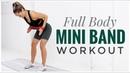 Тренировка всего тела с мини-эспандером. Full Body Mini RESISTANCE BAND Workout