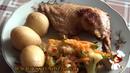 Курица в соусе из меда горчицы приготовленная в мультиварке