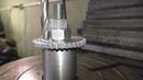 Замена шестеренки привода масляного насоса на Kawasaki Vulcan