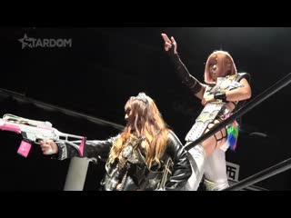 Konami & Jungle Kyona (c) vs Arisa Hoshiki & Tam Nakano - Goddesses of STARD✪M Title Match