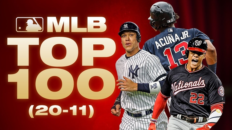 Top 100 Players No 20 to 11 MLB Top 100 Players Where did Aaron Judge and Juan Soto land