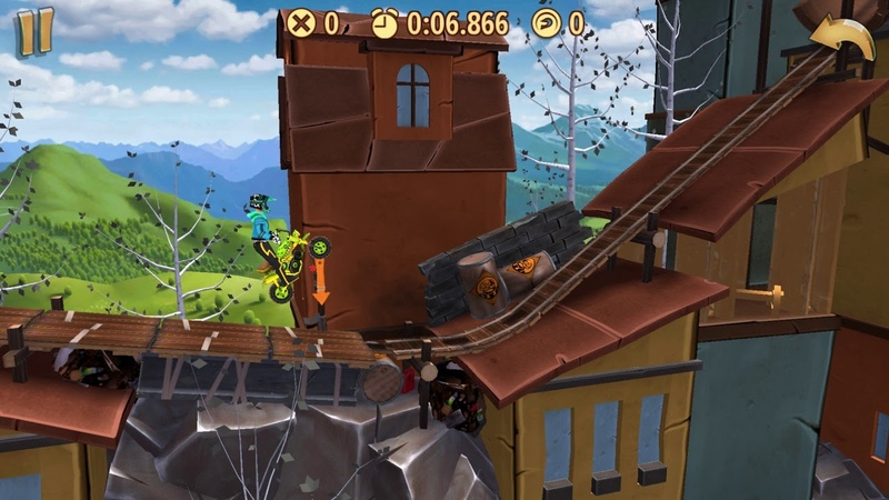 Trials Frontier WRs - Happy Fling / Donkey (19.586) by captainchun2016 (iOS)