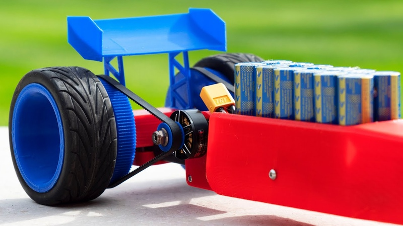Super Capacitor Dragster