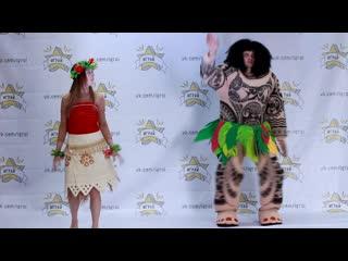 Мауи и Моана. Костюмы для аниматоров