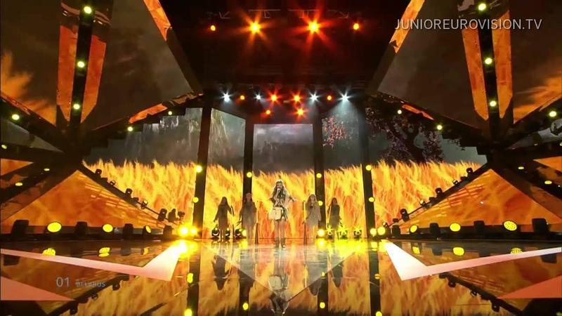 Nadezhda Misyakova Sokal Falcon Belarus LIVE Junior Eurovision Song Contest 2014