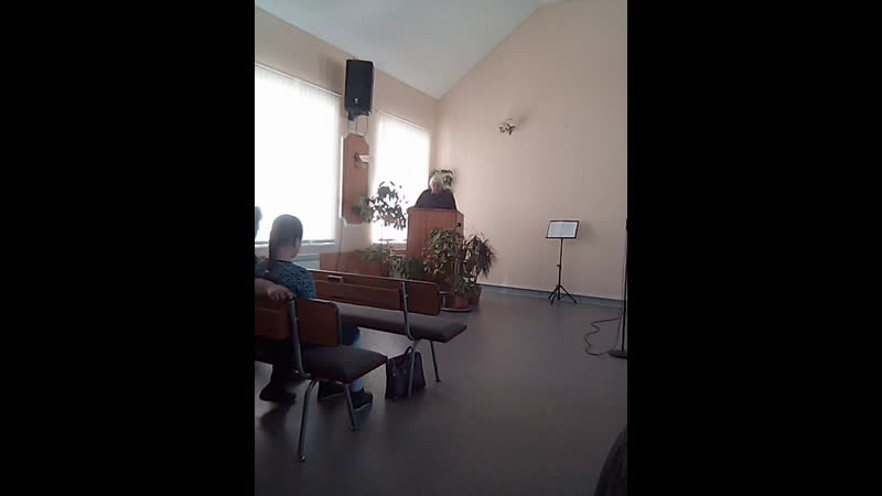 Проповедует Маевский А П