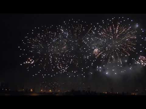Международный фестиваль фейерверков Франция Ростех 18 08 2019
