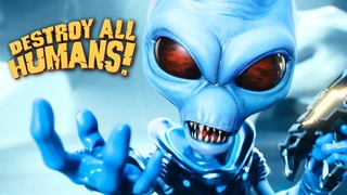 Destroy All Humans! - Official Remake Reveal Trailer  Rammstein - Ich will (UFO cover)🔥🔥🔥