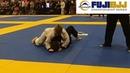 Kal El Tewell vs James Ribolla Match 1 FUJIBJJ Indiana State Championship Series JiuJitsu