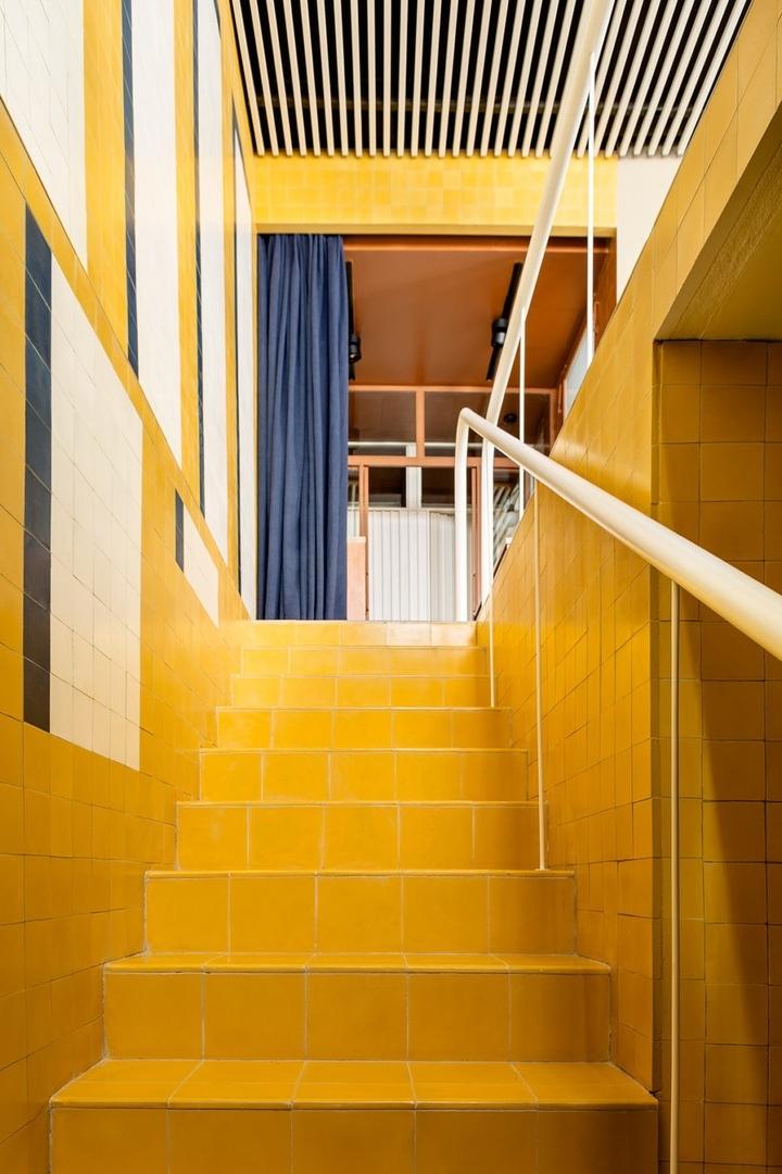 Офис рекламного агентства по проекту Casa Josephine в Мадриде