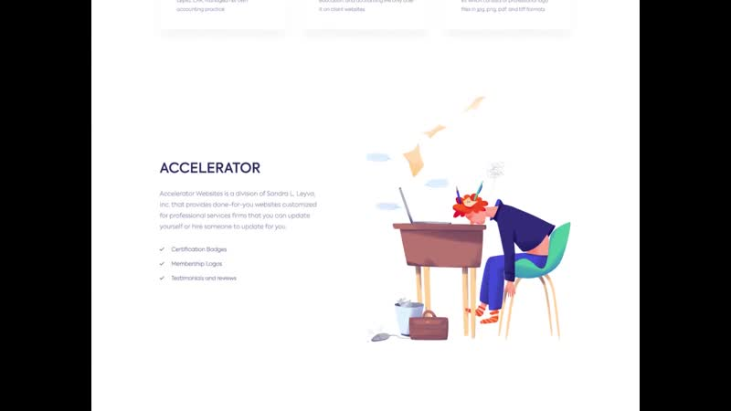 Landing page - Accele by Outcrowd inspiration@frendes