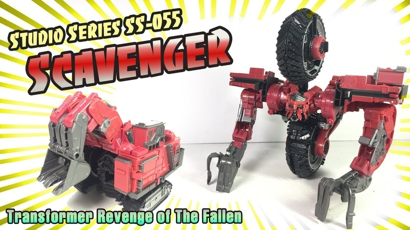 Studio Series SS 55 Leader class Scavenger Transformer RoTF Review