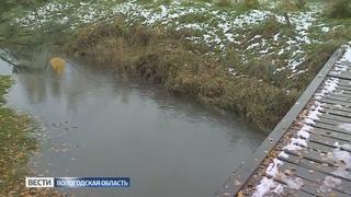 Без воды остались сразу две улицы поселка Ананьино в Вологде