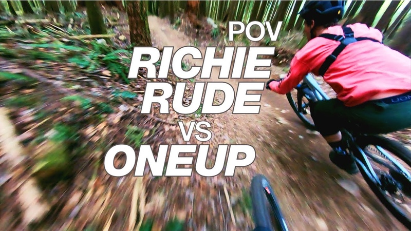 POV Can a Pro Mountain Biker pass 6 riders on their local trail?