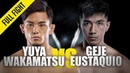 Yuya Wakamatsu vs Geje Eustaquio ONE Full Fight Knockout Blow August 2019