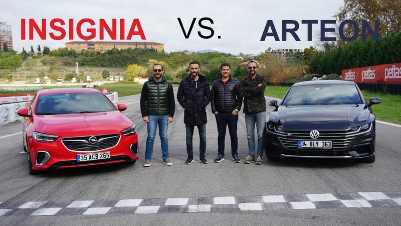 VW Arteon 4Motion vs Opel Insignia GSI   DRAG YARIŞ