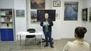 Ринат Камалиев 7 сентября 2019 в библиотеке Фурцевой.