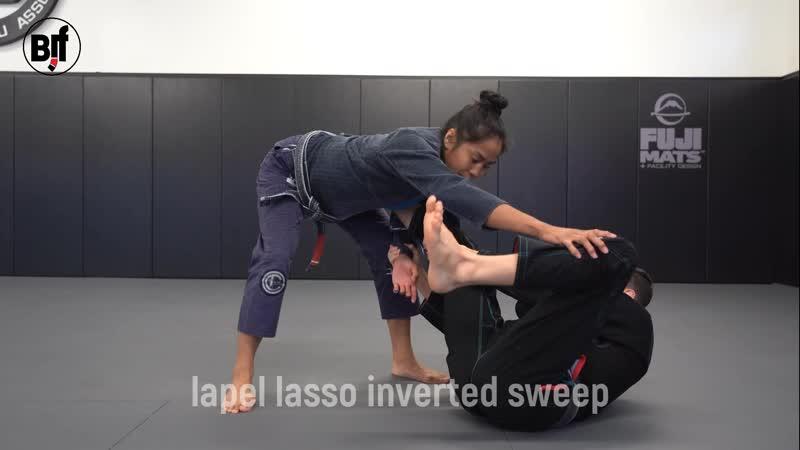 Caio Terra - lapel lasso inverted sweep