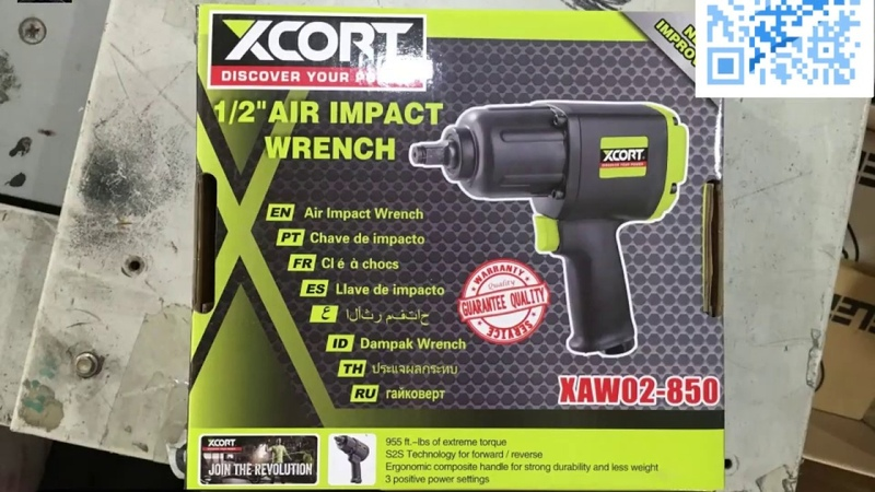 XCORT power tools 1 2 AIR IMPACT WRENCH not bosch makita S2S forwad and reverse IBS extreme torque