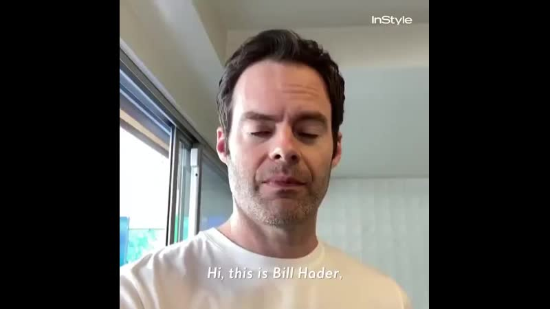 Bill Hader for Instyle magazine photoshoot