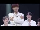 X1 Song Hyeongjun aegyo at JTBC