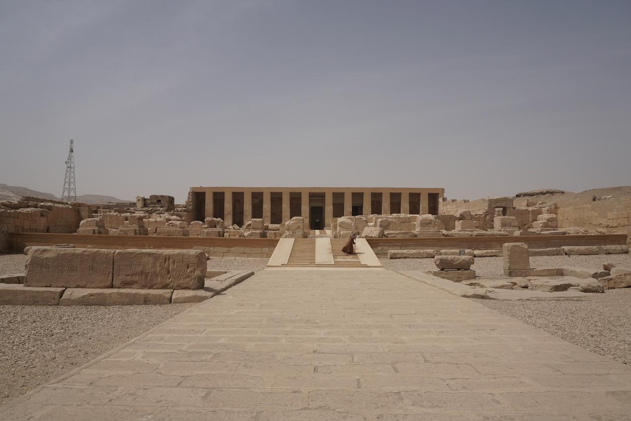 Храм Сети I в египетском Абидосе