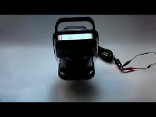 Led search light cree 50w spot beam remote control led work light for 4x4 truck suv marine(0).mp4