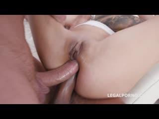 Legalporno dap destination liloo gets 4on1 no pussy, first time dap, balls deep anal and swallow