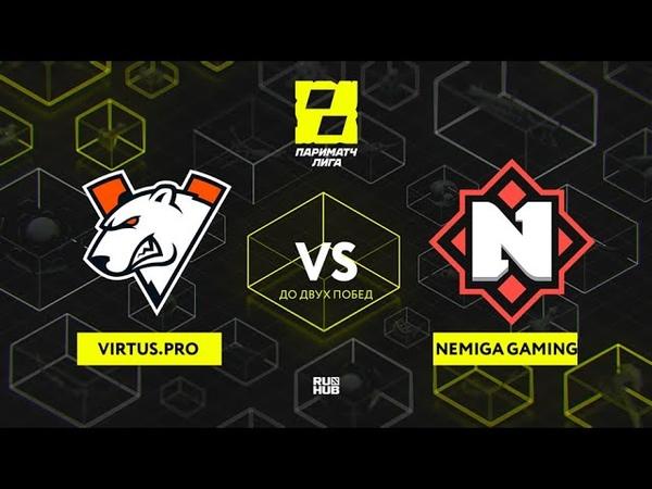 Vs Nemiga Gaming Лига Париматч bo3 game 2 Maelstorm Jam