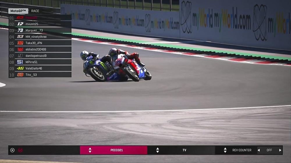 Франческо Банья выиграл вторую виртуальную гонку MotoGP